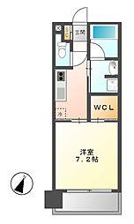 アデグランツ大須[10階]の間取り