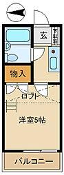 アリス倉賀野[2階]の間取り