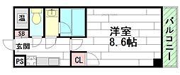 イケガミパート5[3階]の間取り