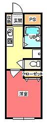 フローラルハイツB棟[302号室]の間取り