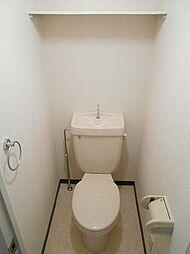 ダイアヒルズ北一社のトイレ・上部棚付き