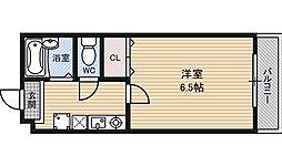 フェアリーハイム松原[2階]の間取り