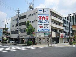矢田ビル[3階]の外観