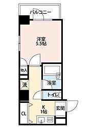 レジディア文京湯島II[11階]の間取り