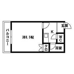 ウェールハウス[103号室]の間取り