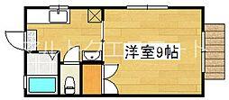 サニーコート A棟[1階]の間取り
