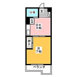 第2高正ビル[3階]の間取り