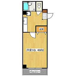 珠光ビル松原[5階]の間取り