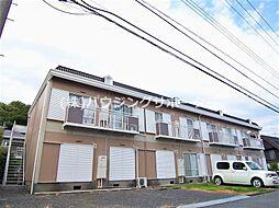 東京都八王子市久保山町2丁目の賃貸アパートの外観