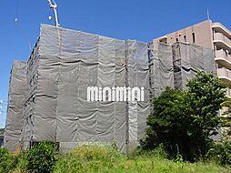 愛知県岡崎市明大寺町字荒井の賃貸マンションの外観