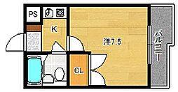 パークONE[1階]の間取り