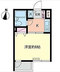 コスモAoi湘南台I[3階]の間取り