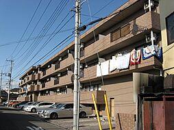 栃木県宇都宮市桜4丁目の賃貸マンションの外観