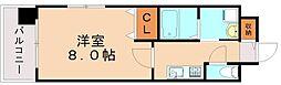 エンクレスト博多駅南Ⅱ[9階]の間取り