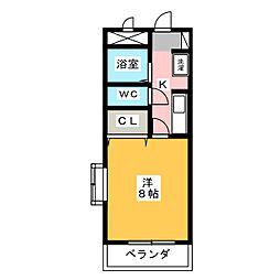 メゾン・ラスター[2階]の間取り
