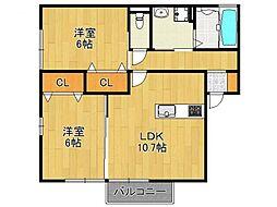 Annex.IIDA[2階]の間取り