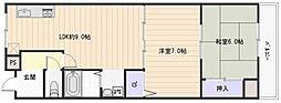 ループ3番館[1階]の間取り