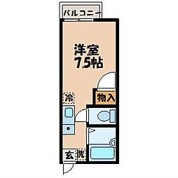 長崎県長崎市片淵4丁目の賃貸アパートの間取り