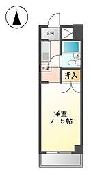 パール徳川[2階]の間取り