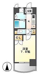 昴名駅南[7階]の間取り
