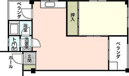 シャトレ三陽[8階]の間取り