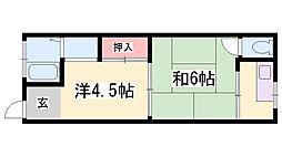 伊藤ハイツ[2階]の間取り