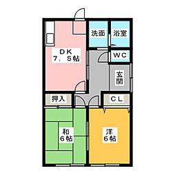 [一戸建] 三重県伊勢市小俣町宮前 の賃貸【三重県/伊勢市】の間取り