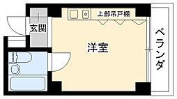 ベイサイド武庫川[303号室]の間取り