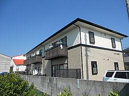 愛媛県松山市久万ノ台の賃貸アパートの外観