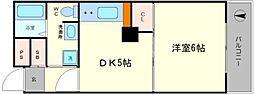 FUKUE BLD[5階]の間取り