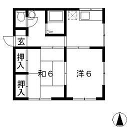 [一戸建] 長野県塩尻市大字広丘郷原 の賃貸【/】の間取り