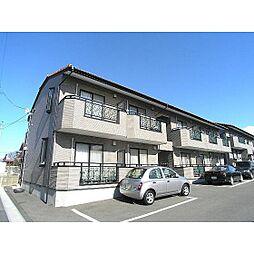 福島県郡山市咲田1丁目の賃貸アパートの外観