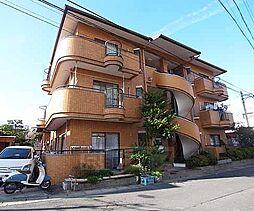 京都府向日市物集女町北ノ口の賃貸マンションの外観