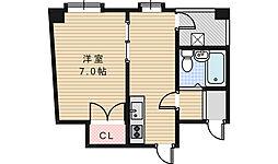 グレース鶴ヶ丘[4階]の間取り