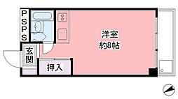 兵庫県西宮市郷免町の賃貸マンションの間取り