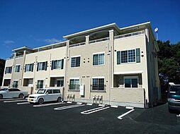 愛知県日進市浅田町上納の賃貸アパートの外観