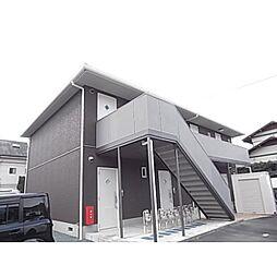 静岡県静岡市駿河区小鹿3丁目の賃貸アパートの外観