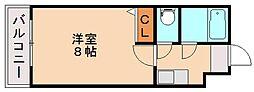 フラット7[1階]の間取り