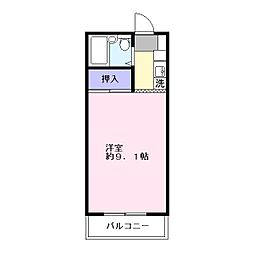 青沼ビル[3階]の間取り
