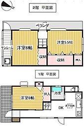 [一戸建] 神奈川県横浜市神奈川区浦島町 の賃貸【/】の間取り