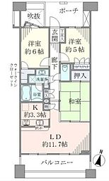 D−triaアイリットスクエア[5階]の間取り