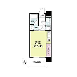 アーデンタワー神戸元町[0805号室]の間取り