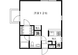SHIRAKOアパートメントハウス[203号室]の間取り