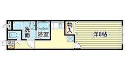 MISTRAL飾磨駅前[101号室]の間取り