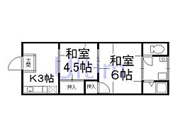 龍谷大前深草駅 4.3万円