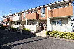 茨城県龍ケ崎市直鮒の賃貸アパートの外観