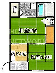 寿荘[205号室号室]の間取り