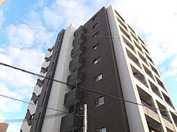 プラシード新町[3階]の外観