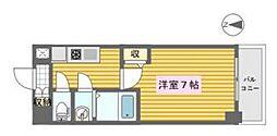 KDX新町レジデンス[4階]の間取り