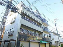 千葉県市川市南八幡3の賃貸マンションの外観